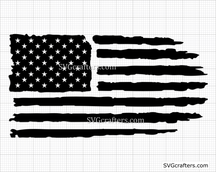 American Flag Svg,4th Of July Svg,Fourth Of July Svg,Veteran USA Flag,USA Flag Cut File,Cricut Explore Silhouette,Cameo,Eps,Svg,Pdf,Dxf,Png